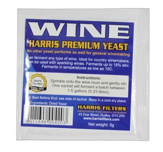 Harris Wine Yeast