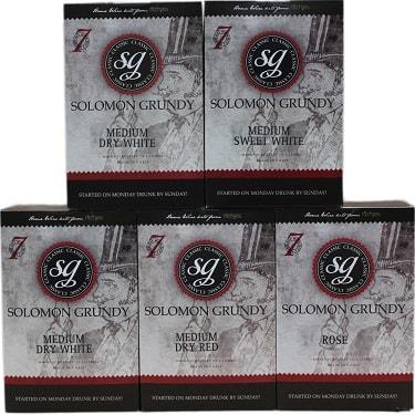 Solomon Grundy Wine Kits 30 Bottle