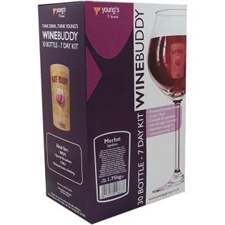 Winebuddy Wine making Kits 30 Bottle